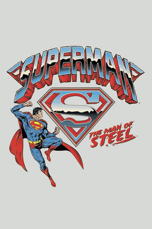 Superman - The man of steel Poster Mural XXL
