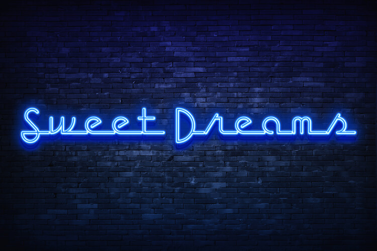 Sweet dreams Poster Mural XXL