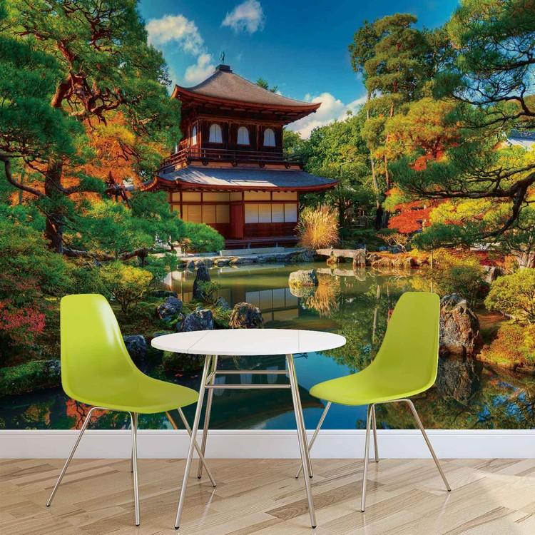 temple zen culture japonaise poster mural papier peint. Black Bedroom Furniture Sets. Home Design Ideas
