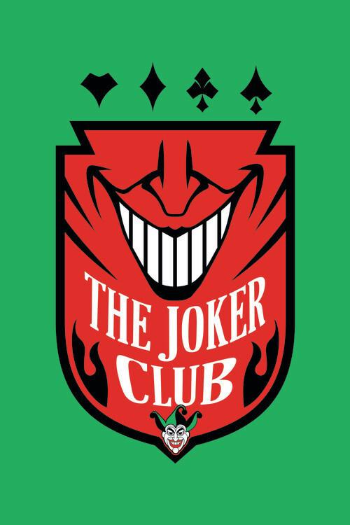 The Joker - Club Poster Mural XXL