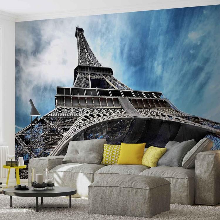 Tour eiffel paris poster mural papier peint acheter le - Poster xxl paris ...