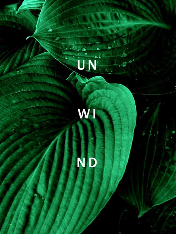 Unwind Poster Mural XXL