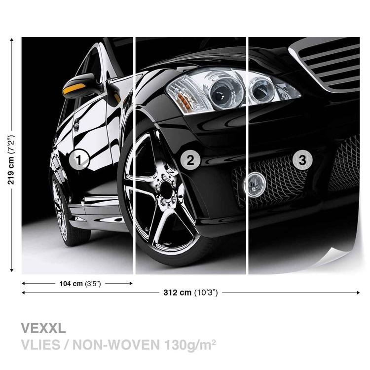 voiture de luxe poster mural papier peint acheter le sur. Black Bedroom Furniture Sets. Home Design Ideas