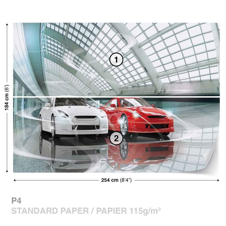 voitures transport poster mural papier peint acheter le sur. Black Bedroom Furniture Sets. Home Design Ideas