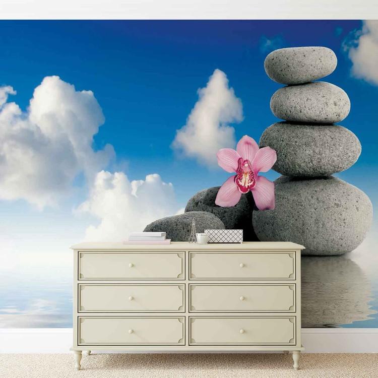 zen spa s r nit poster mural papier peint acheter le sur. Black Bedroom Furniture Sets. Home Design Ideas