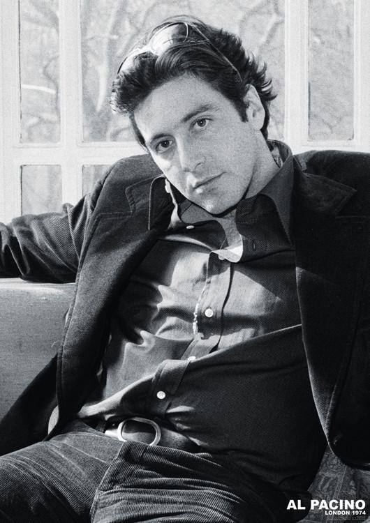 Póster Al Pacino - London 1974