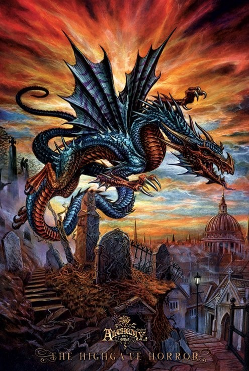 Poster Alchemy - the highgate horror