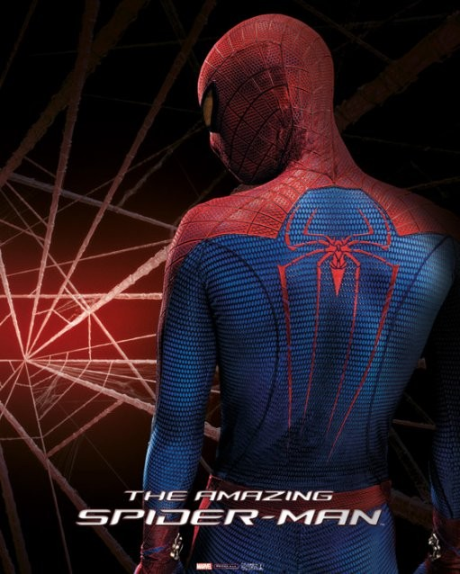 Poster AMAZING SPIDER-MAN - back
