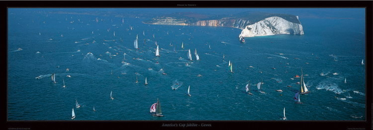 Poster America's Cup jubilee