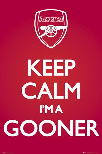 Poster Arsenal FC - Keep Calm