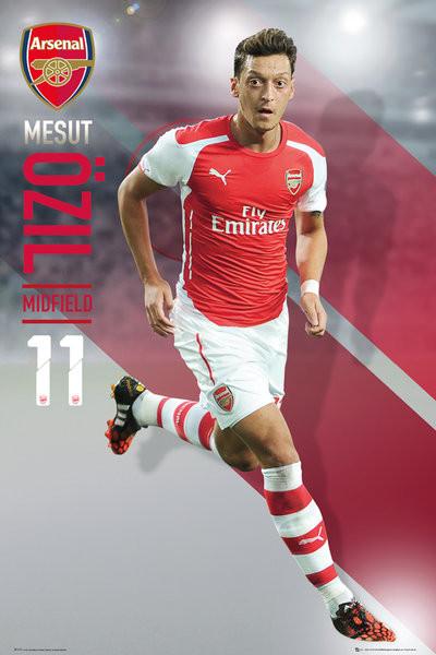 Poster Arsenal FC - Ozil 14/15