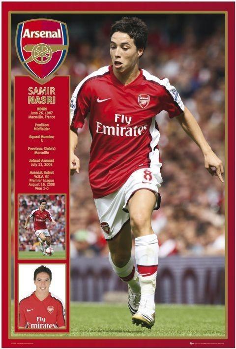 Poster Arsenal - nasri 08/09
