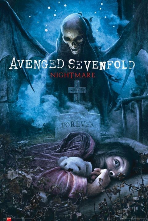 Poster Avenged Sevenfold - nightmare