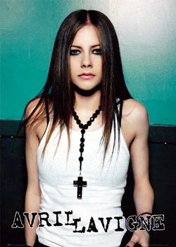 Poster Avril Lavigne - cross