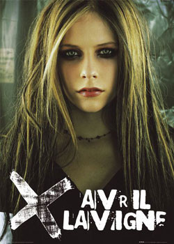 Poster Avril Lavigne - eyeshadow
