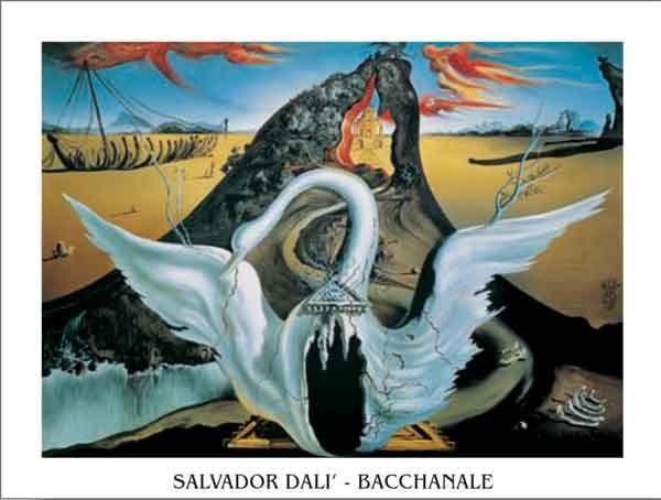 Bacchanale, 1939 Kunstdruck