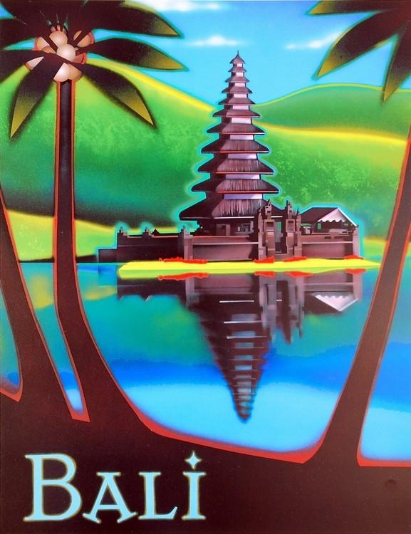 Bali Kunstdruck