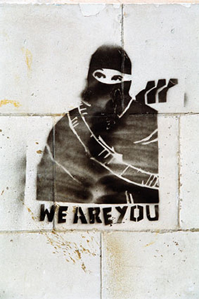 Poster Banksy Street Art - Graffiti We Are You