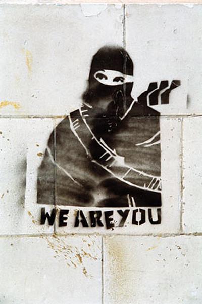 Banksy Street Art - Graffiti We Are You Poster