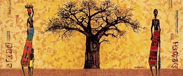 Baobab Kunstdruck
