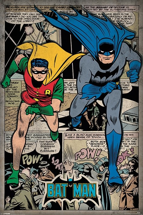 Poster Batman - Comic Montage