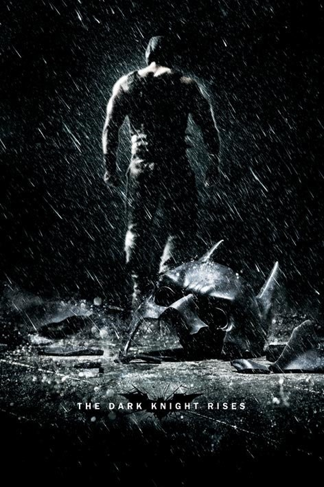 Poster BATMAN DARK KNIGHT RISES - bane