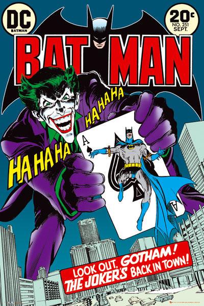 Poster BATMAN - jokers back