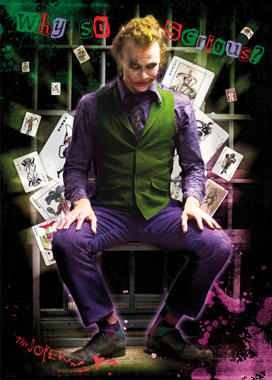 Batman The Dark Knight - Joker Jail Poster