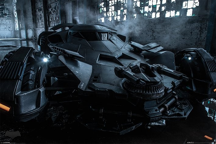 Poster Batman v Superman: Dawn of Justice - Batmobile