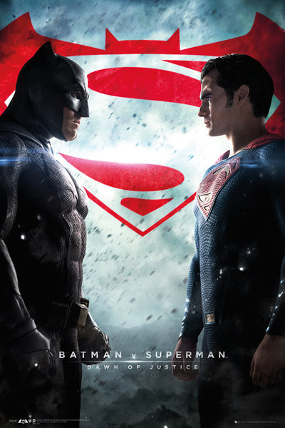 Poster Batman v Superman: Dawn of Justice - One Sheet