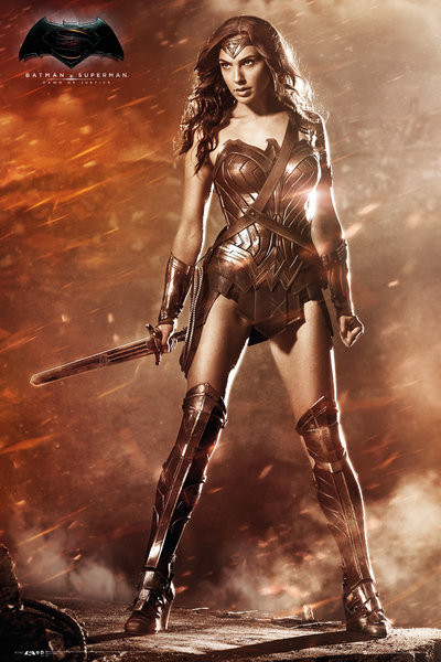 Poster Batman v Superman: Dawn of Justice - Wonder Woman