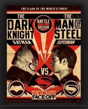 Poster Batman V Superman - Fight Poster