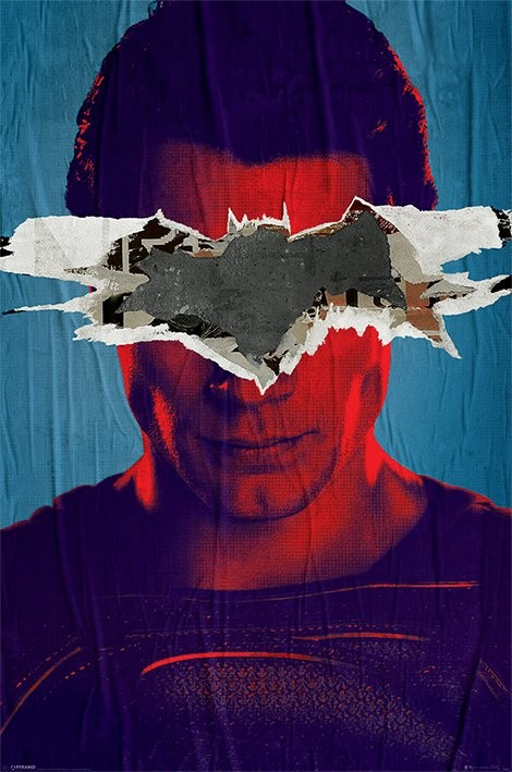 Poster Batman vs. Superman - Superman Teaser