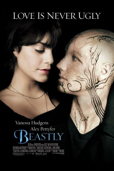 Poster BEASTLY - love is never ugly