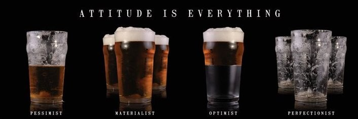 Poster Beer - attitude is everything