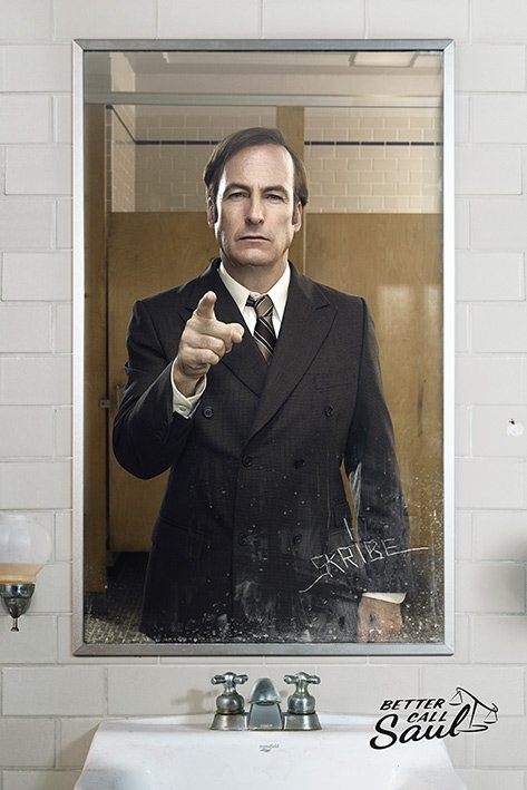 Poster Better Call Saul - Mirror