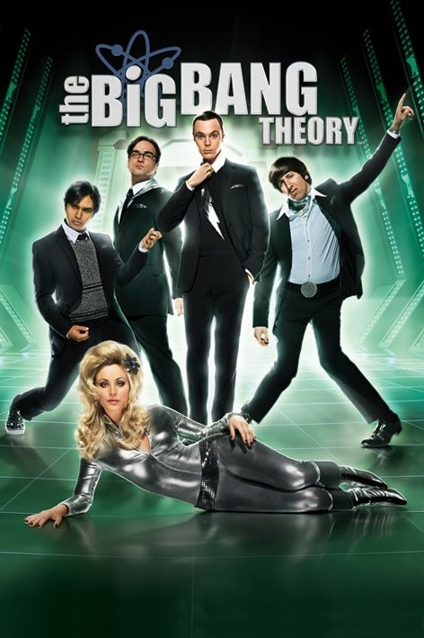 BIG BANG THEORY - barbarella Poster