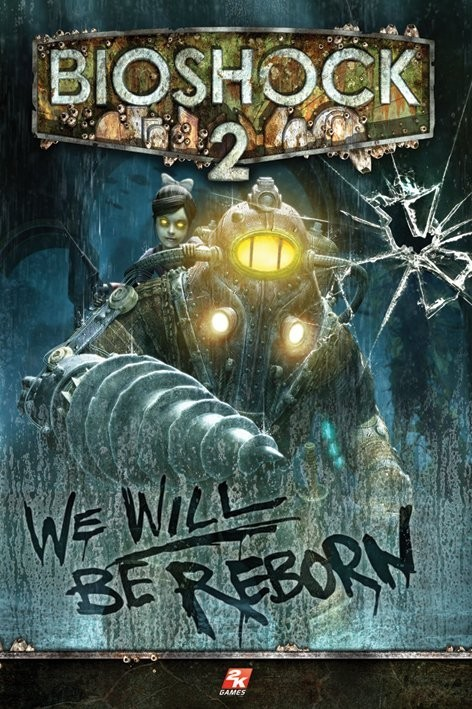 Poster Bioshock 2 - we will be reborn