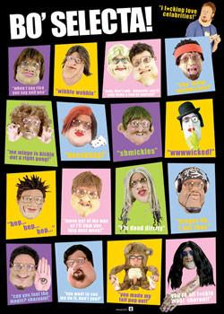 Poster  Bo' Selecta! - Characters