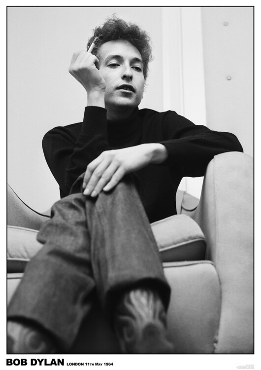Poster Bob Dylan - London 1964