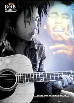 Poster Bob Marley - guitar new