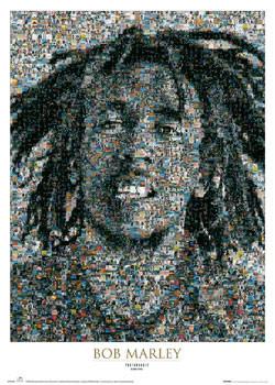 Poster  Bob Marley - mosaic II.