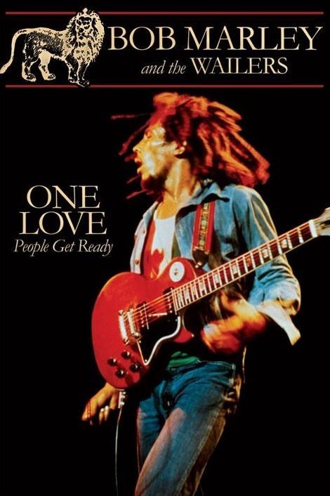 Poster Bob Marley - wailers