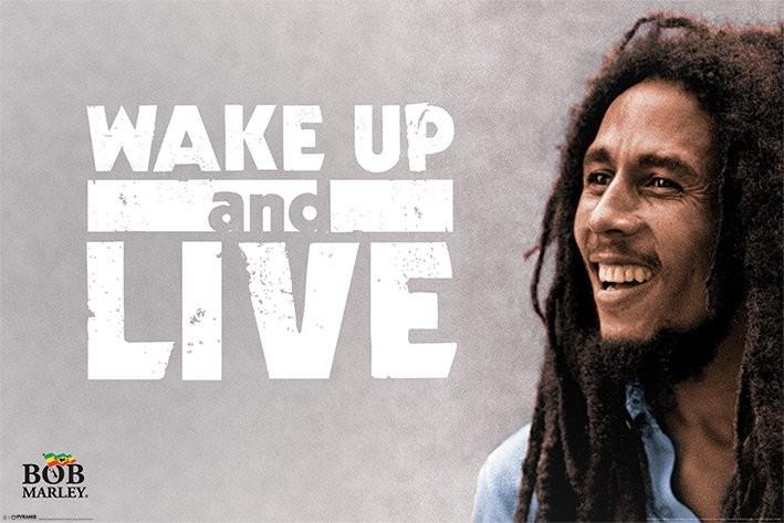 Poster Bob Marley - Wake Up and Live