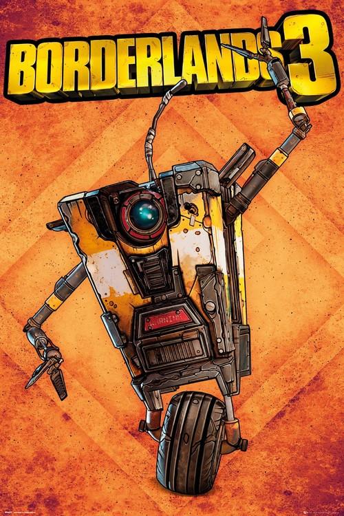 Poster  Borderlands 3 - Claptrap