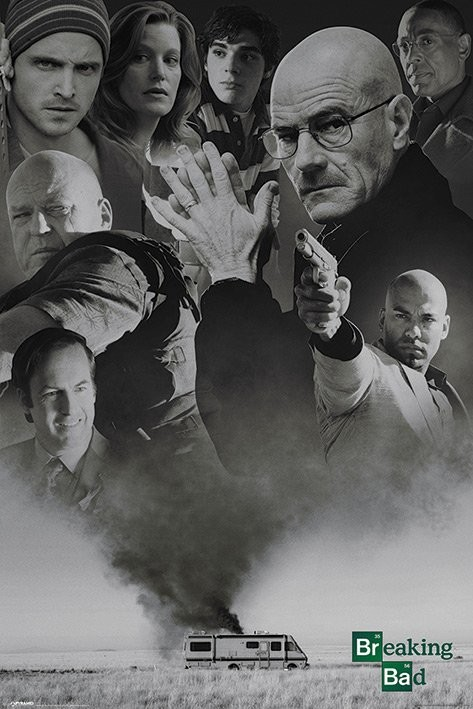 Poster BREAKING BAD - up in smoke