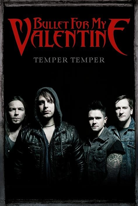 Poster Bullet for my valentine - group