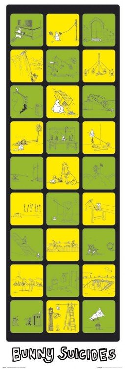 Poster  Bunny suicides - the return of
