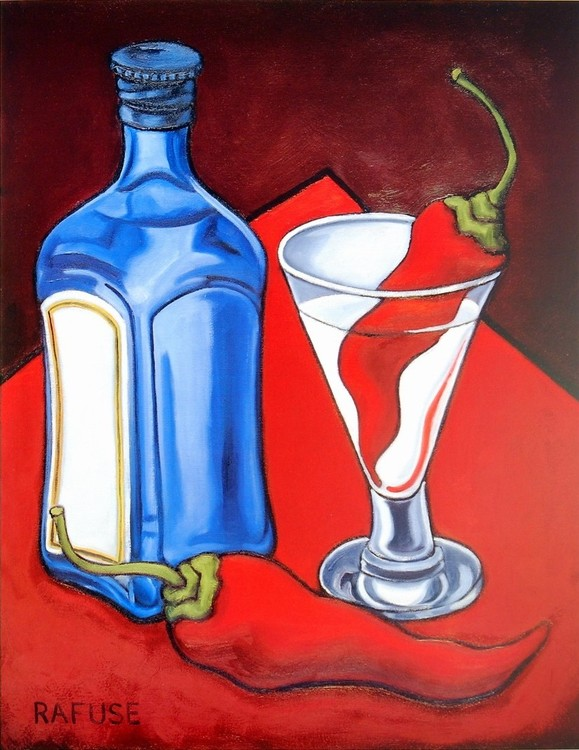 Cajun Martini Kunstdruck