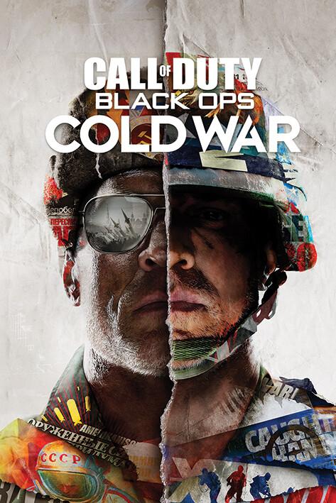 Póster Call of Duty: Black Ops Cold War - Split